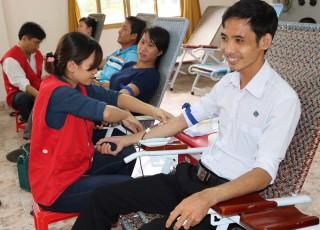 600 đơn vị máu dự trữ dịp Tết
