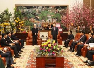 Tổng Bí thư Nguyễn Phú Trọng thăm, chúc Tết tại tỉnh Hưng Yên