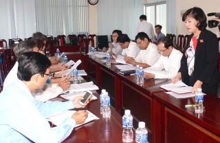 Đoàn đại biểu Quốc hội tỉnh: Giám sát việc sử dụng vốn, tài sản nhà nước