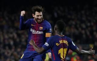 Messi và Suarez tỏa sáng, Barca hủy diệt Girona