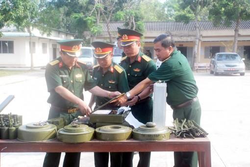 Quân khu 9 kiểm tra công tác chuẩn bị huấn luyện chiến đấu năm 2018
