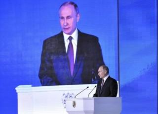 Tổng thống Nga Vladimia Putin đọc Thông điệp liên bang cuối cùng