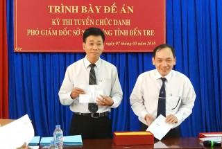 Ông Trần Văn Trưng trúng tuyển chức danh Phó giám đốc Sở Xây dựng
