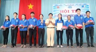 """Thạnh Phú: Tổ chức Ngày hội và hội thi """"Thanh niên với văn hóa giao thông"""" năm 2018"""
