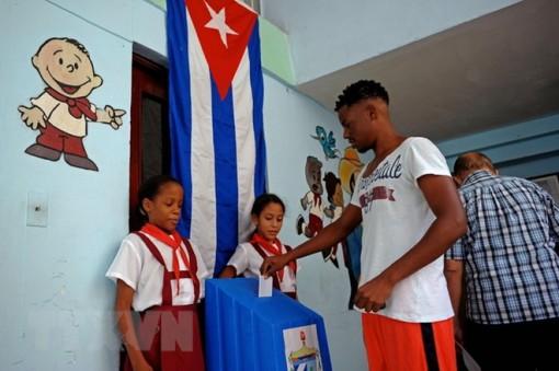 Hơn 8 triệu cử tri Cuba đi bỏ phiếu bầu cử Quốc hội