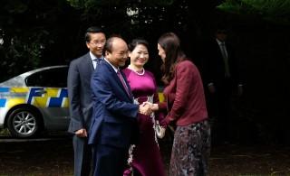 Lễ đón chính thức Thủ tướng Nguyễn Xuân Phúc thăm New Zealand