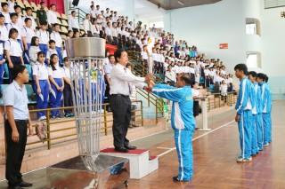 Sở Giáo dục và Đào tạo: Khai mạc Đại hội Thể dục thể thao năm 2018