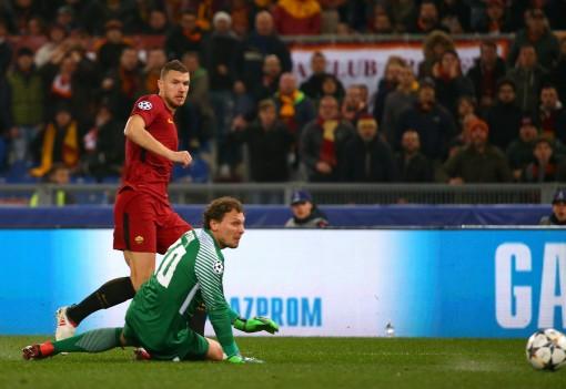 Dzeko tỏa sáng, Roma hạ Shakhtar Donetsk vào tứ kết Champions League