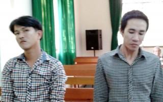 Trộm 1 máy cắt, trị giá 3,15 triệu đồng, cả 2 bị cáo phải ngồi tù