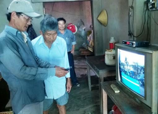 Hỗ trợ đầu thu truyền hình số qua vệ tinh cho hộ nghèo, cận nghèo