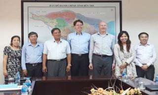 Đoàn đại biểu Hà Lan đến thăm và làm việc tại tỉnh