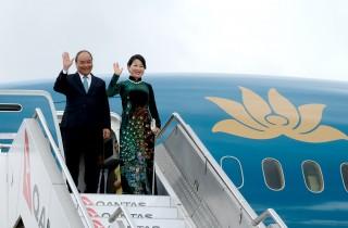 Thủ tướng đến thành phố Sydney, dự Hội nghị ASEAN - Australia