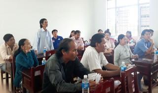 Giồng Trôm: Tư vấn xuất khẩu lao động cho đoàn viên, thanh niên