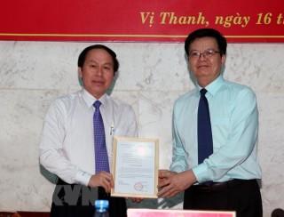 Công bố quyết định của Ban Bí thư về công tác cán bộ của Hậu Giang