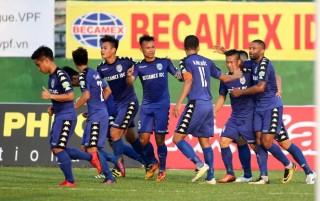 Bình Dương thắng trận đầu tiên ở V-League 2018