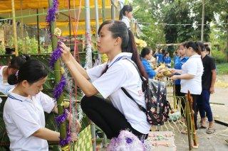 Hội trại năm 2018 thu hút khoảng 200 sinh viên tham gia