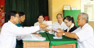 Nét đẹp bầu cử trưởng ấp ở xã nông thôn mới Phú Nhuận