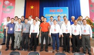 Đại hội Liên đoàn Bóng đá  tỉnh, nhiệm kỳ 2018 - 2022