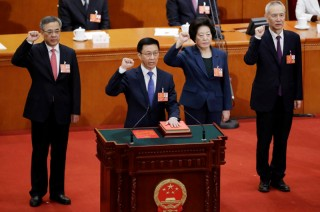 Quốc hội Trung Quốc bầu chọn các chức danh trong Chính phủ