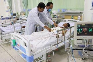 Bệnh viện Nguyễn Đình Chiểu: Cấp cứu thành công ca tràn máu màng tim