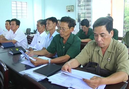 Giồng Trôm: Triển khai Điều lệ Cựu chiến binh Việt Nam khóa VI, nhiệm kỳ 2017 - 2022