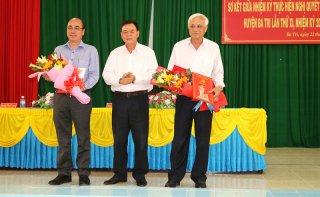 Các Huyện ủy, Đảng ủy sơ kết giữa nhiệm kỳ