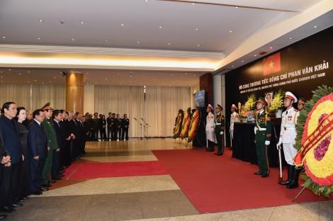 Lễ truy điệu nguyên Thủ tướng Phan Văn Khải tại Hà Nội