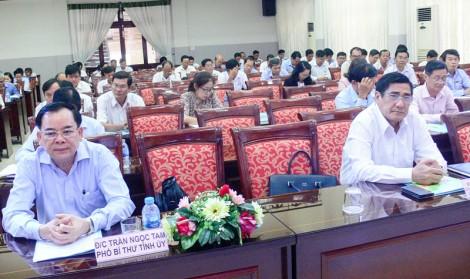 Khai mạc Hội nghị sơ kết giữa nhiệm kỳ Đảng bộ Khối Doanh nghiệp tỉnh