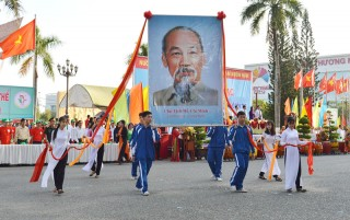 TP. Bến Tre:  Khai mạc Đại hội Thể dục thể thao lần thứ VIII năm 2018