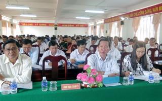 Mỏ Cày Nam sơ kết giữa nhiệm kỳ thực hiện Nghị quyết Đảng bộ huyện