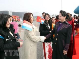 Chủ tịch Quốc hội bắt đầu thăm chính thức Vương quốc Hà Lan