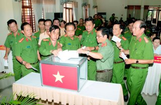 Đảng bộ Công an tỉnh: Hoàn thành nhiều chỉ tiêu Nghị quyết đề ra