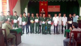 Ban Chỉ huy Quân sự xã Phú Sơn: Sôi nổi phong trào thi đua Quyết thắng
