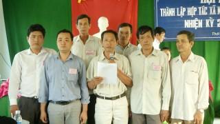 Thạnh Phú phát triển mới 11 hợp tác xã và doanh nghiệp