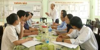 Thạnh Phú: Kiểm tra và khảo sát tình hình học sinh bỏ học, có nguy cơ bỏ học