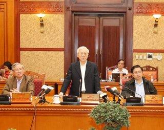 Tổng Bí thư Nguyễn Phú Trọng chủ trì họp Ban Bí thư Trung ương Đảng