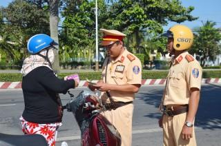 Người chiến sĩ cảnh sát giao thông tận tụy