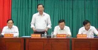 Khai mạc Hội nghị lần thứ 12 Ban Chấp hành Đảng bộ tỉnh khóa X