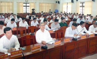Thông báo kết quả Hội nghị lần thứ 12 Ban Chấp hành Đảng bộ tỉnh khóa X