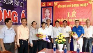 Đảng bộ Khối Doanh nghiệp tỉnh: Thêm 1 tổ chức cơ sở đảng trong doanh nghiệp tư nhân