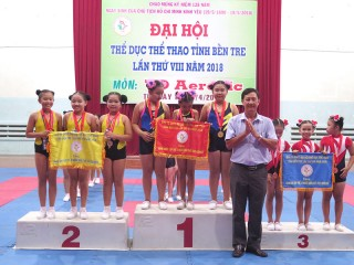 Đại hội Thể dục thể thao tỉnh lần thứ VIII, môn Aerobic thi đấu