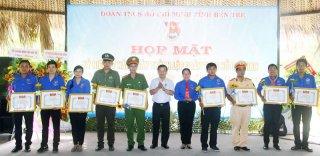 Trung úy Phạm Hoàng Minh: Cán bộ đoàn tận tâm, cần mẫn