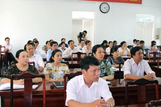 Công đoàn Viên chức tỉnh: Báo cáo nhanh kết quả Đại hội V Công đoàn Viên chức Việt Nam