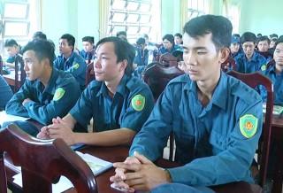 Giồng Trôm tổ chức huấn luyện 248 chiến sĩ dân quân