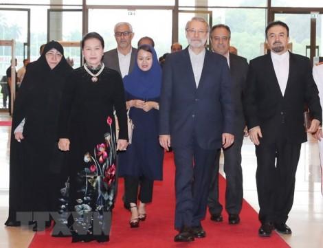 Chủ tịch Quốc hội Iran kết thúc chuyến thăm chính thức Việt Nam