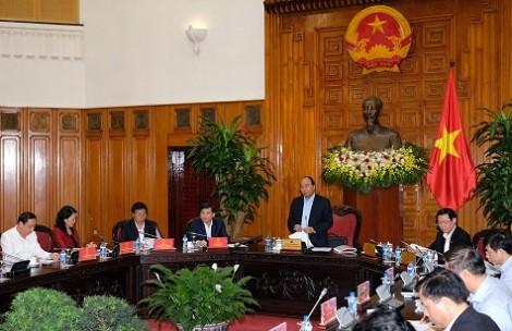 Thủ tướng Nguyễn Xuân Phúc làm việc với Viện Kiểm sát nhân dân Tối cao