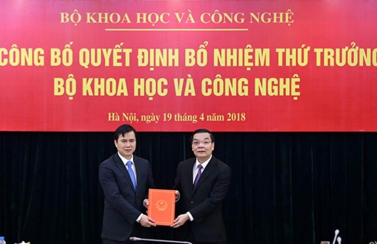 Công bố quyết định bổ nhiệm Thứ trưởng Bộ KH&CN