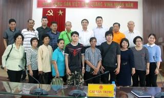 Lãnh đạo tỉnh làm việc với Đoàn khách Thái Lan