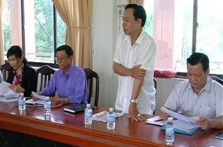 HĐND tỉnh giám sát công tác giải quyết khiếu nại, tố cáo ở Ba Tri