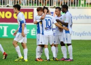 Vòng 6 V-League 2018: HA Gia Lai đánh bại SHB Đà Nẵng